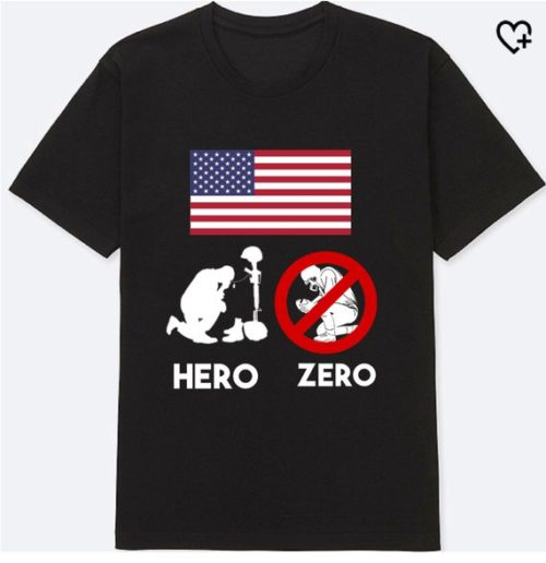 Hero - Zero Tshirt Anti NFL Shirt