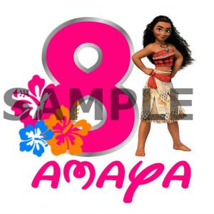Moana Iron On Transfer. Moana T-shirt Decal. Diy Moana Birthday Shirt. Vaiana Iron On Transfer. Vaiana Birthday Shirt. DIGITAL FILE.