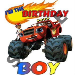 INSTANT DOWNLOAD- Blaze and the Monster Machines Birthday iron on, Blaze and the Monster Machines iron on, Blaze T-Shirt decal – BLAZE