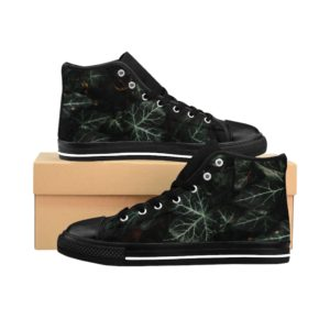 Clariz Green Edition of Men's High-top Sneakers